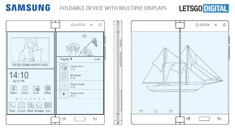Samsung patenta smartphone con tres pantallas 31