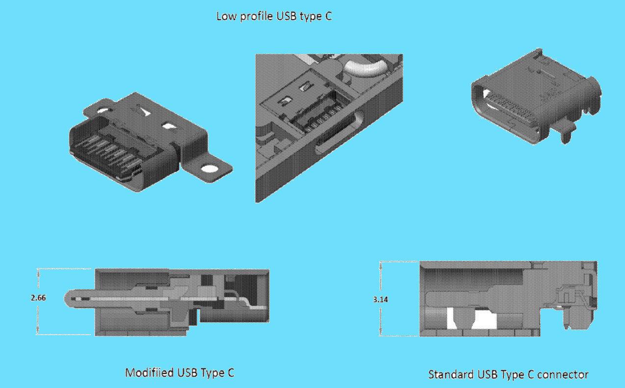Otra patente para un Surface Phone plegable con doble pantalla OLED 40