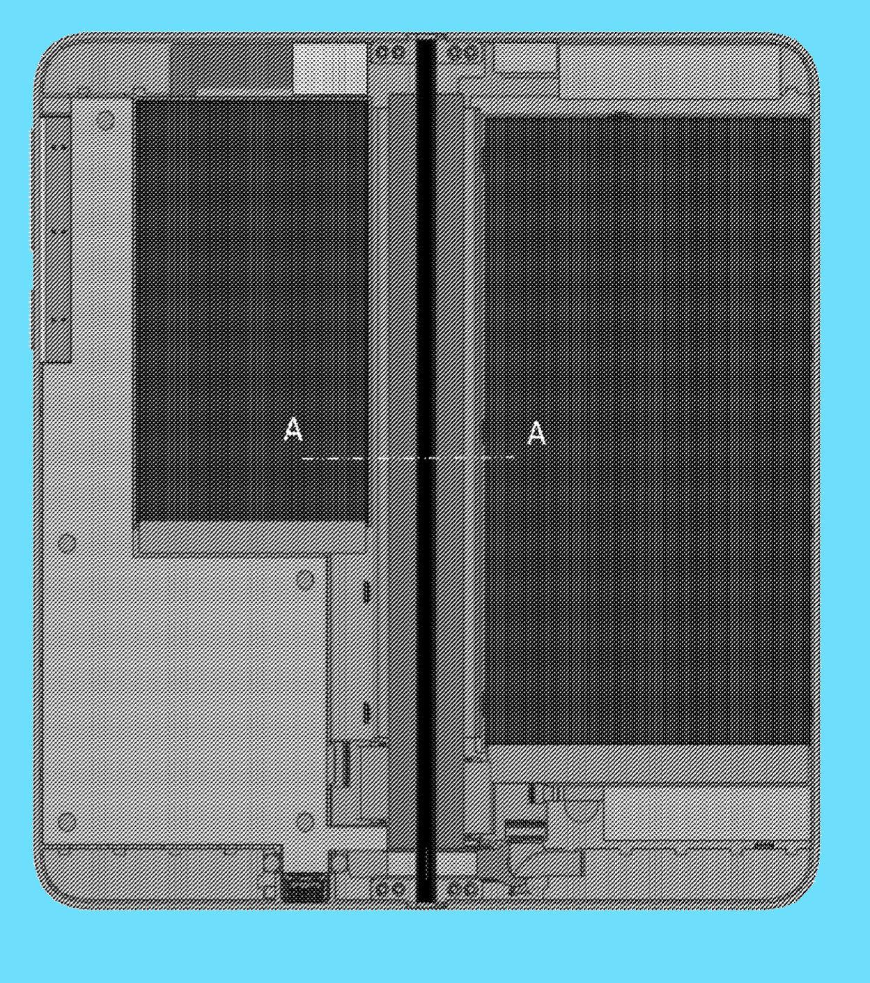 Otra patente para un Surface Phone plegable con doble pantalla OLED 38