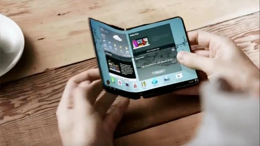 Samsung quiere ser la primera en lanzar un smartphone flexible 28