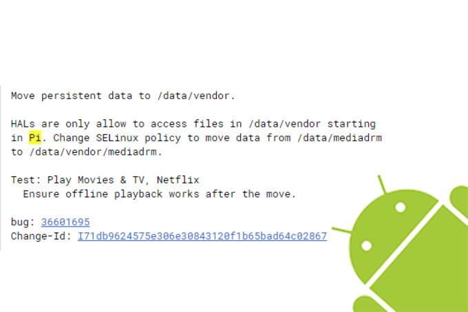 """Android 9 se conoce a nivel interno como """"Pi"""" 32"""