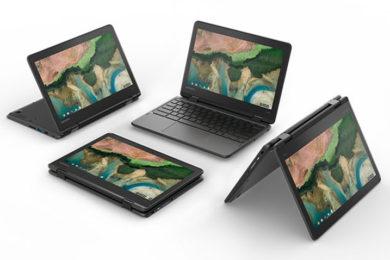 Google contraataca: Nuevos Chromebooks de Lenovo y Acer