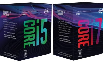 Core i3-8300 y Core i5-8500 listados, precios 29