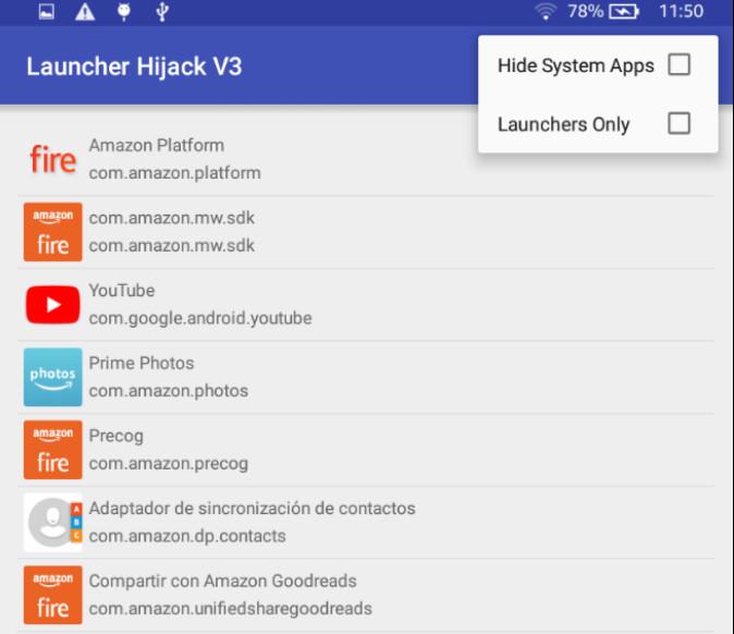 Desbloquea tu tablet Amazon Fire con servicios Google, apps y nuevo lanzador 36