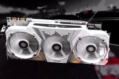 Nueva GALAX GeForce GTX 1070 Ti HOF; overclock por bandera