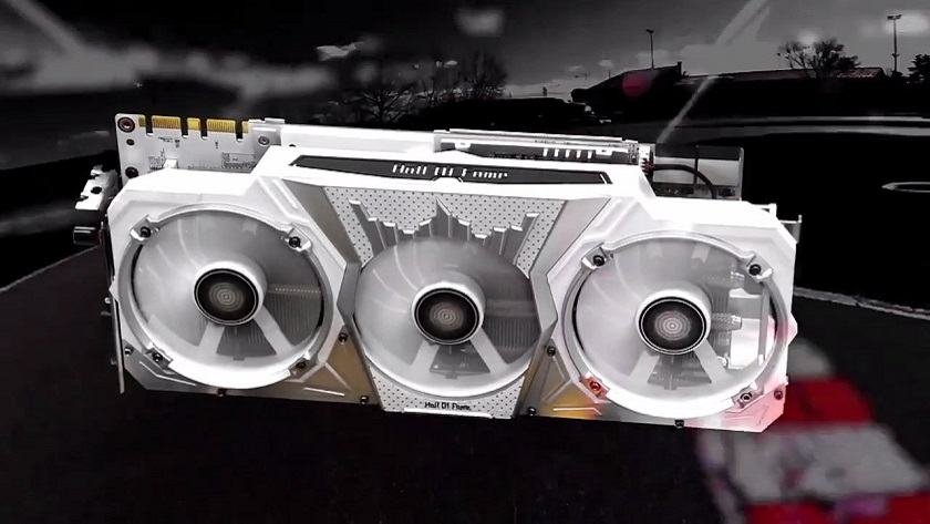 Nueva GALAX GeForce GTX 1070 Ti HOF; overclock por bandera 30