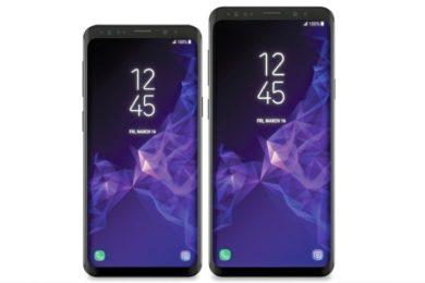 Render de prensa de los Galaxy S9 y S9+, hay cambio de diseño
