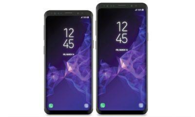 Render de prensa de los Galaxy S9 y S9+, hay cambio de diseño 37