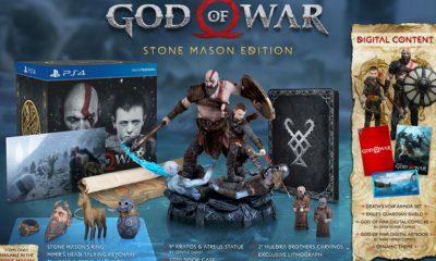 Anunciado God of War Stone Mason Edition, un lujazo cargado de extras 57