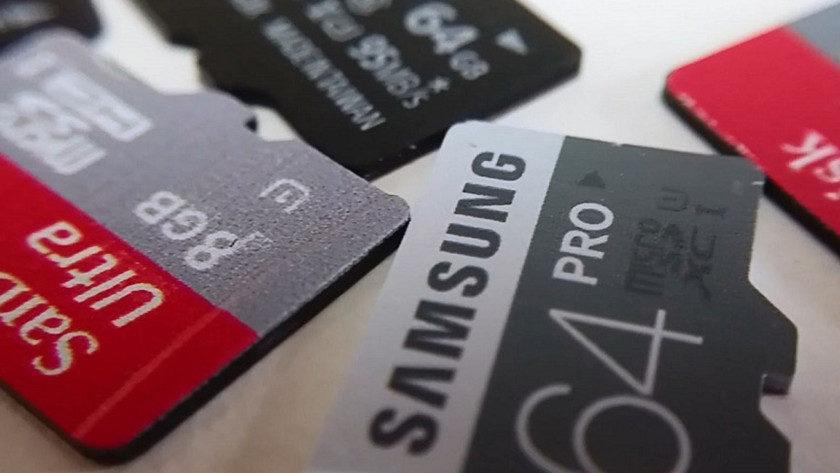 microSD con 512 GB