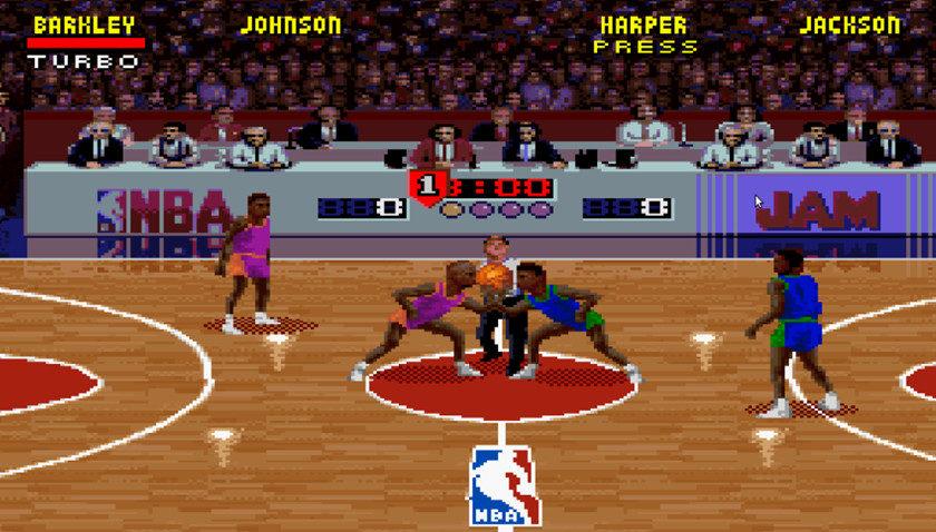 NBA Jam puede volver para celebrar su 25 aniversario