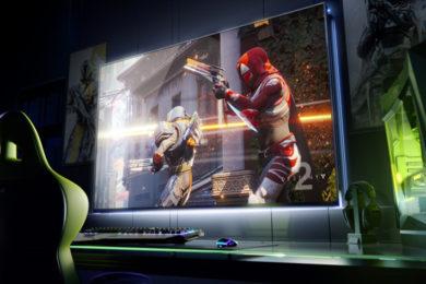 """NVIDIA anuncia """"Big Format Gaming Displays"""", jugando a 4K en pantallas de 65 pulgadas"""