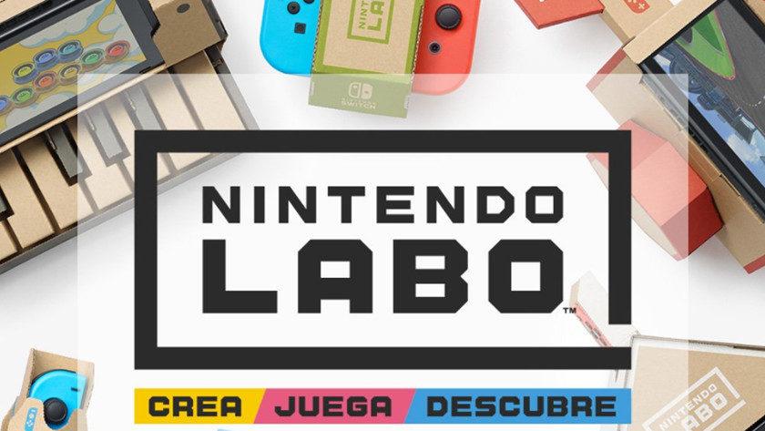 Nintendo Labo: nuevas experiencias con la consola Switch