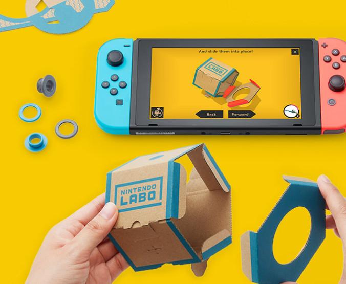 Nintendo Labo: nuevas experiencias con la consola Switch 29
