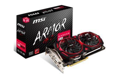 MSI presenta la Radeon RX 580 Armor MK2