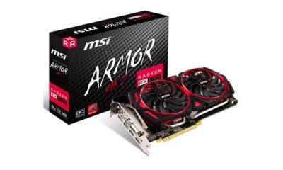 MSI presenta la Radeon RX 580 Armor MK2 33