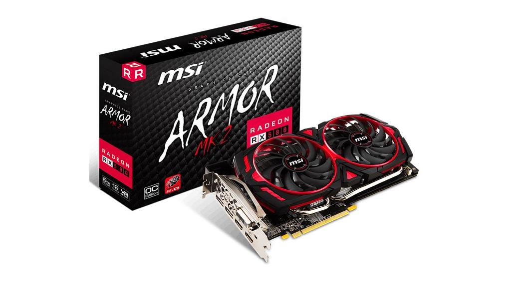 MSI presenta la Radeon RX 580 Armor MK2 29
