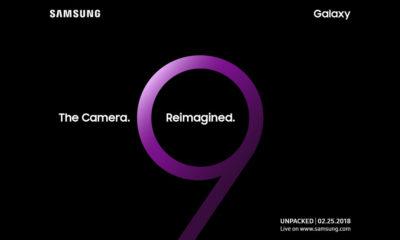 Samsung Galaxy UNPACKED para presentar el Galaxy S9