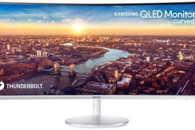 Samsung presenta el primer monitor curvado con Thunderbolt 3