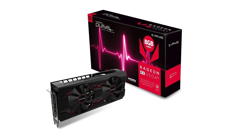 """Sapphire Radeon RX Vega 56 PULSE, una solución """"económica"""" listada a precio de infarto 29"""