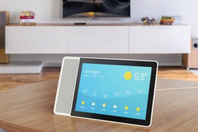 Lenovo presenta el Smart Display con Google Assistant