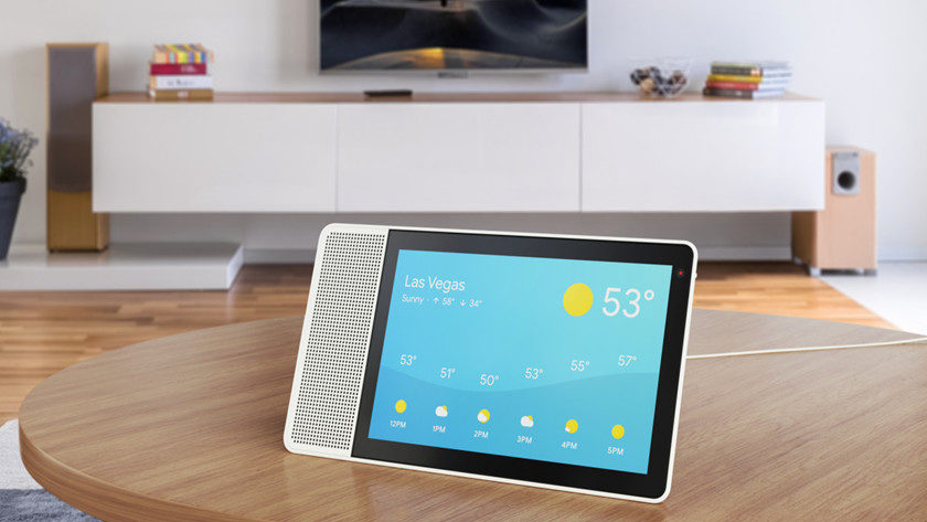 Lenovo presenta el Smart Display con Google Assistant