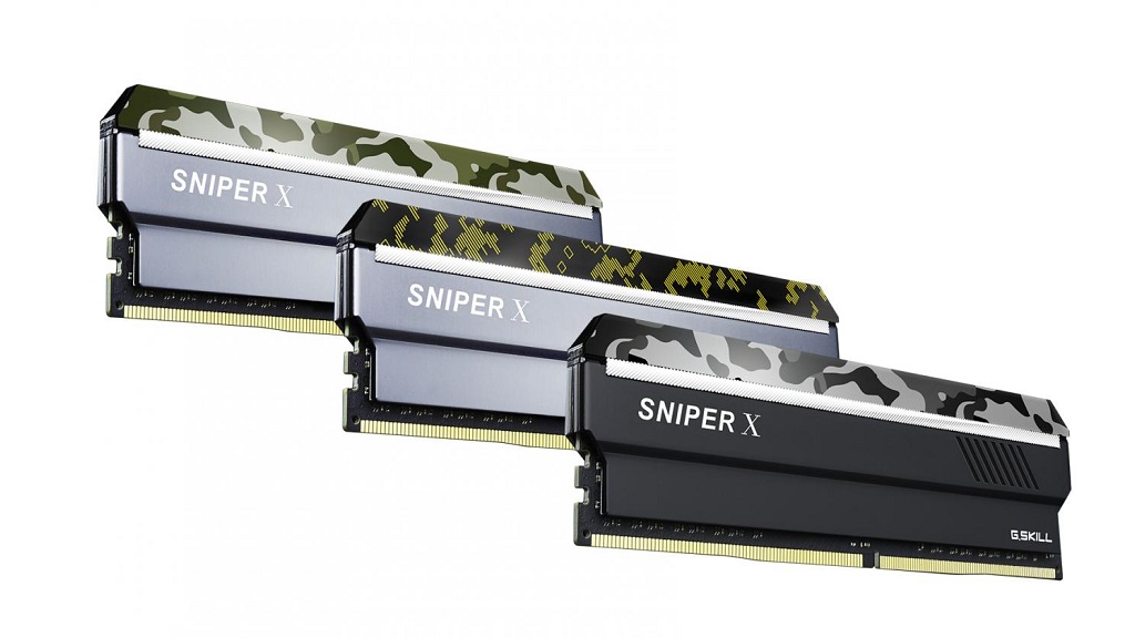 G.SKILL anuncia sus nuevos kits de DDR4 Sniper X 29