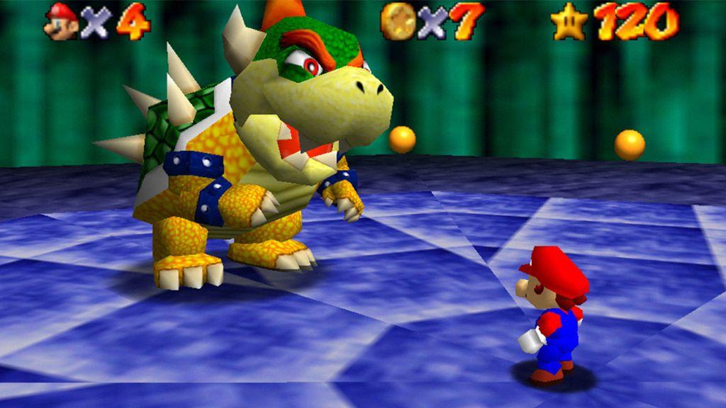 Consiguen que Super Mario 64 se juegue en primera persona