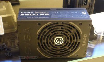 EVGA presenta la fuente de alimentación SuperNova 2200W P2 42