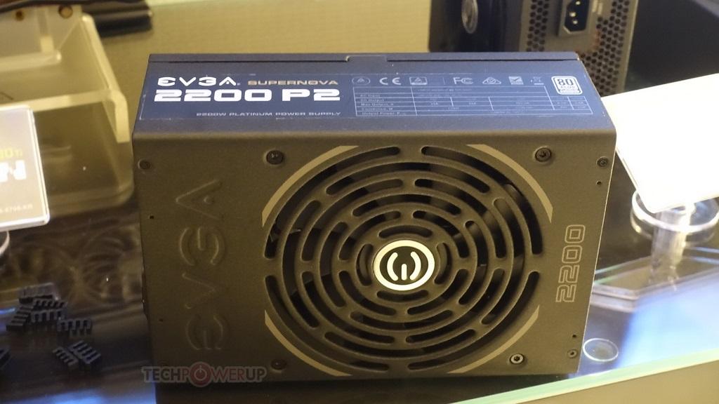 EVGA presenta la fuente de alimentación SuperNova 2200W P2 27