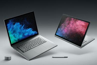 Microsoft confirma que llevará Surface Book 2 a España