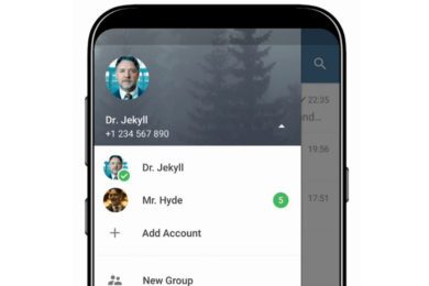 Telegram 4.7 para Android añade soporte para múltiples cuentas a la vez