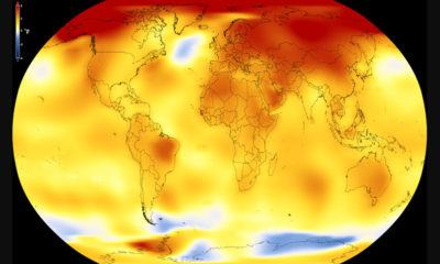 NASA: 2017 fue el segundo año más caluroso de la historia 69