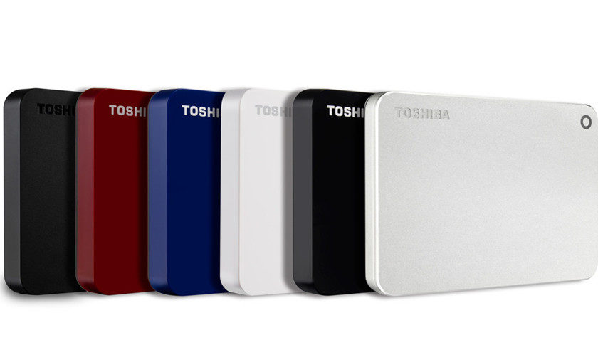Toshiba actualiza su serie de discos duros externos, CANVIO