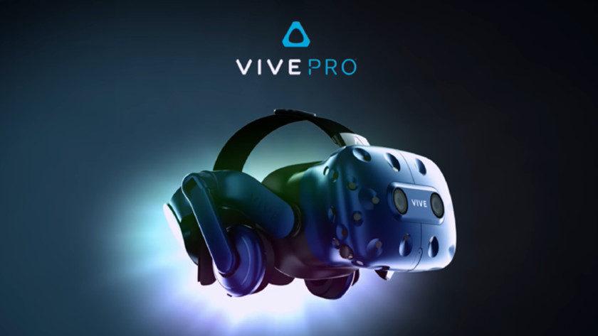 HTC presenta el casco de realidad virtual, Vive Pro