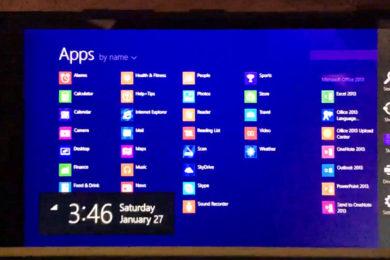 Windows RT para smartphones progresa adecuadamente
