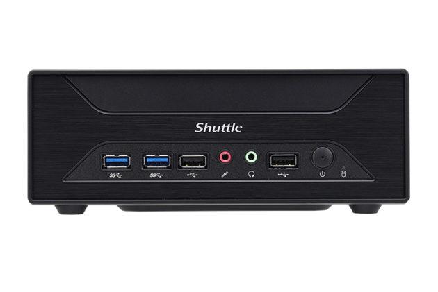 Shuttle XH110G, análisis 31