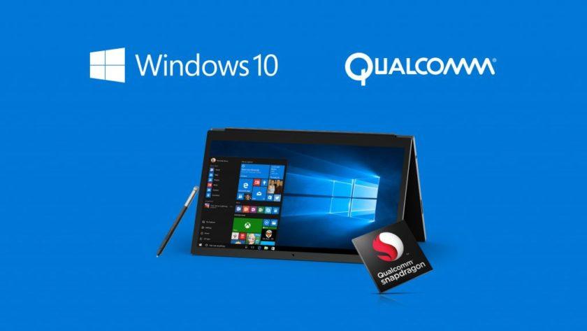 Qualcomm aclara el impacto de las aplicaciones Win32 en Windows 10 sobre ARM
