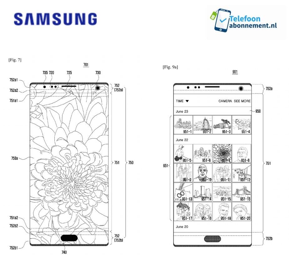 Samsung patenta cámara integrada en la pantalla del smartphone 37