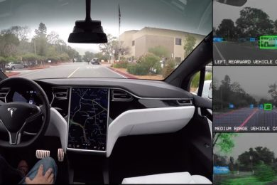 Tesla queda última en la carrera hacia el coche autónomo