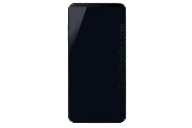 Filtrado el primer render del LG G7; mejora del formato 18:9