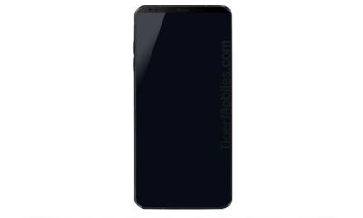 Filtrado el primer render del LG G7; mejora del formato 18:9 78