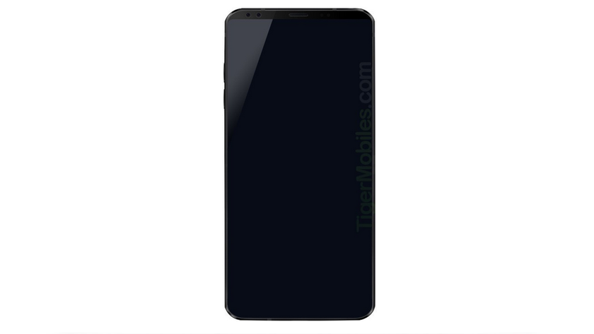 Filtrado el primer render del LG G7; mejora del formato 18:9 32