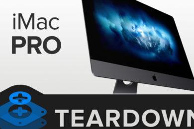 iFixit disecciona el iMac Pro, no es fácil, pero puede actualizarse
