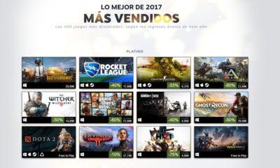Estos han sido los juegos más vendidos en Steam en 2017 46