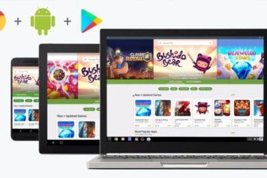 El soporte de la Google Play Store se amplía a más Chromebooks