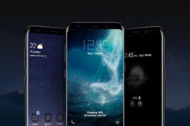 Primera imagen real de la parte trasera de los Galaxy S9 y S9+