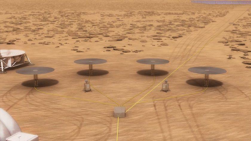 La NASA empieza a probar pequeños reactores nucleares para colonizar Marte