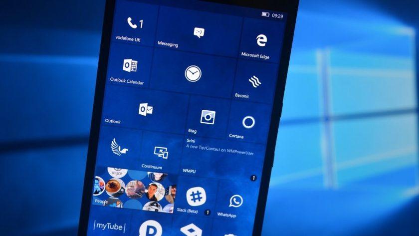 Microsoft actualiza Windows 10 Mobile para frenar a Meltdown y Spectre