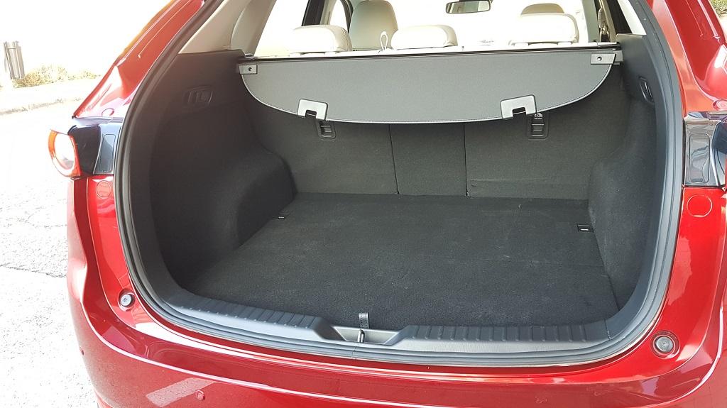 Mazda CX-5, perspectiva 44